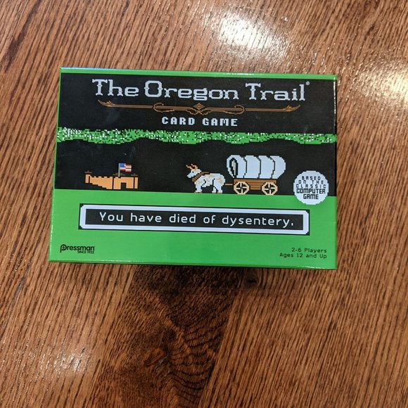NEW The Oregon Trail Card Game